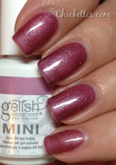 Gelish Samurai Swatch. Get Gelish at www.esthersnc.com
