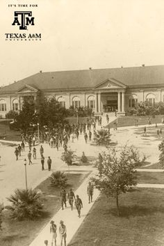 Texas A&M ~ Sbisa dining hall ~ looks to be about WWI era or after