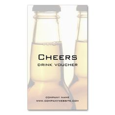 Beer Restaurant or Brewery Drink Voucher Cards Business Card Template by EnduringMoments . coupons and giftcards