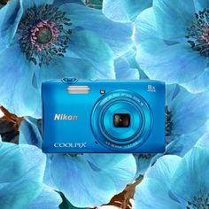 Po zimie wreszcie możemy podziwiać cudowne, błękitne niebo! Niebieski COOLPIX S3600 pomoże wam uwiecznić wszystko, co pod tym niebem znajdziecie!