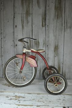1960's Troxel Child's Vintage Tricycle by RusticRealm on Etsy, $85.00
