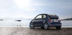 Maritiem boodschappenautootje: Fiat 500 met behulp van Riva