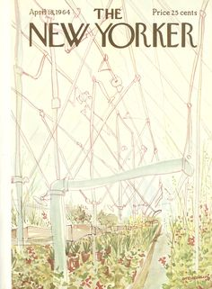 The New Yorker - Saturday, April 18, 1964 - Issue # 2044 - Vol. 40 - N° 9 - Cover by : James Stevenson