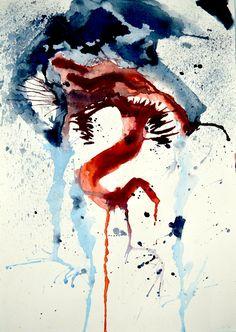Edie Brock ! Venom Watercolor