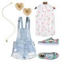 """""""Untitled #782"""" by jordynn-nicole-fishy ❤ liked on Polyvore featuring Vans, H&M, Jennifer Meyer Jewelry and Lord & Taylor"""