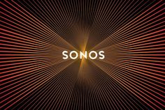 Sonos logo that pulses like a speaker when scrolled