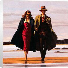 Jack Vettriano - one of my favourite artists, via Marisa Franco del Navìo