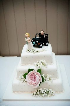 Jeep Wedding Cake Topper By Lynntlecreations On 30 00