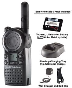 Two-way radios for business, especially when you can take them home and use around the house or on vacation.