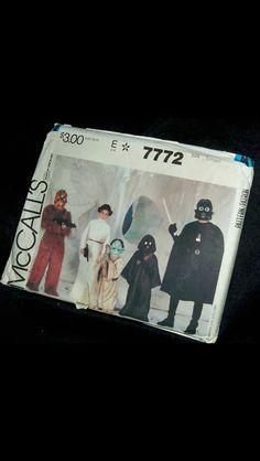 1981 DiY Star Wars costumes