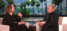 Vídeo: @Adele se desahoga con @TheEllenShow...