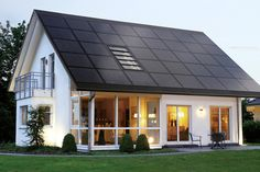 There are many financial ways to turn solar energy into an opportunity for the average American family. Anything between a professional solar loan and Solar Energy Panels, Best Solar Panels, Landscape Arquitecture, Solar Roof Tiles, Solar House, Solar Panel Installation, Solar Panel System, Panel Systems, Diy Solar
