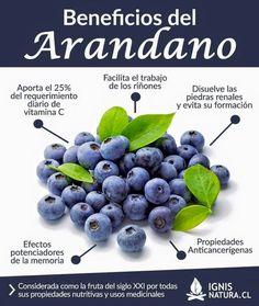 Beneficios de los Arandano #alimentos