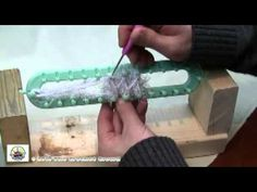How To Loom Knit Snow Bunny Scarf 1 of 2