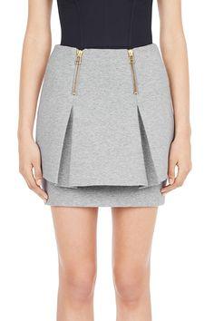 #sassandbide | GRANDE PARADE skirt | #greymarle #grey #marle #skirt #peplum