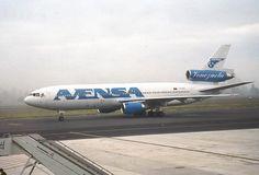 Avensa Venezuela McDonnell-Douglas DC-10-30 taxiing at Santiago de Compostela
