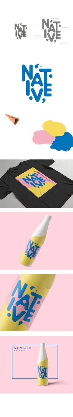NATIVE-summer promote on Behance