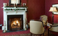 Priory Hotel sitting room