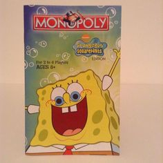 2005 Monopoly Spongebob Squarepants Board Game Instruction Guide Replacement #ParkerBrothers