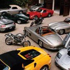 Part of Ralph Lauren's car collection
