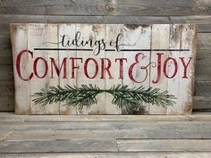 Christmas Pallet Signs, Christmas Wood Crafts, Holiday Signs, Christmas Gift Wrapping, Primitive Christmas, Country Christmas, Christmas Holidays, Christmas Decorations, Christmas Ideas
