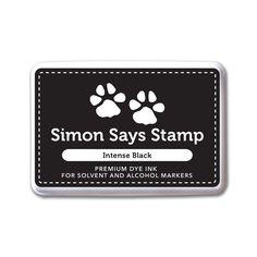 Simon Says Stamp Premium Ink Pad INTENSE BLACK Ink065