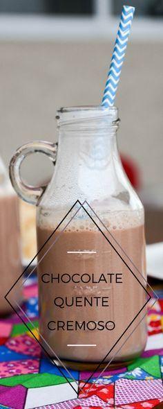 Receita de chocolate quente caseiro para espantar o frio!