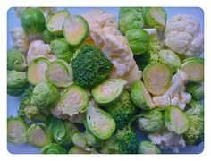 Brassica combo: Brussels Sprouts, Cauliflower and Broccoli
