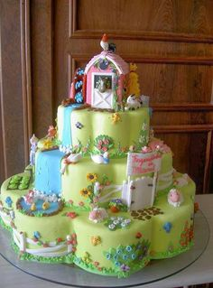 Village Barn Cake