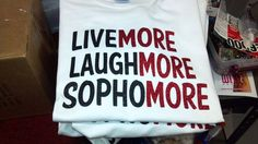 Because I'm loving sophmore year! School Outfits Highschool, Spirit Signs, Class Of 2016, Student Council, School Posters, School Projects, School Hacks, School Ideas, School Shirts