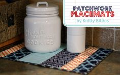 Patchwork Placemat Tutorial ~Thirty Handmade Days