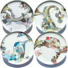 Melamine Plates from Poketo - Design Milk