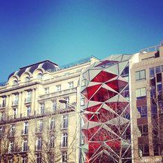 Citroën Showroom / Champs Elysées Paris / Emmanuelle Gautrand architecte
