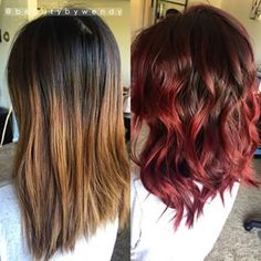colored ombre with brown hair - Google Search More