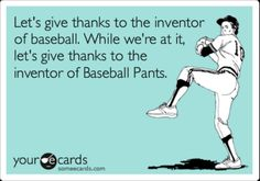 Love me some baseball players!