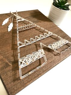 teepee string art