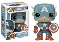 Another Anniversary inspired Captain America Pop Vinyl is currently available for preorder by clicking the image below! The Funko POP Marvel: Captain [. Funko Pop Toys, Funko Pop Figures, Pop Vinyl Figures, Funko Pop Vinyl, Funko Pop Marvel, Pop Vinyl Collection, Rare Funko Pop, Captain America Comic, Capt America
