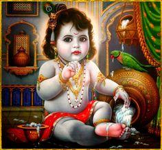 5f3625f0216d64a93e244a333fc0a317  baby krishna lord krishna