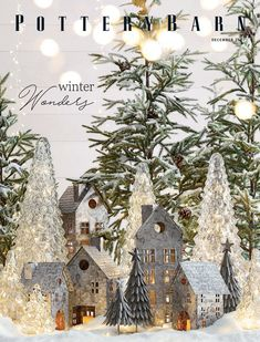 Pottery Barn - Holiday 2017 - Ludlow Trunk with Stand Bar, Black All Things Christmas, Christmas Home, White Christmas, Christmas Villages, Christmas Ideas, Christmas Tablescapes, Christmas Decorations, Christmas Ornaments, Pottery Barn Christmas