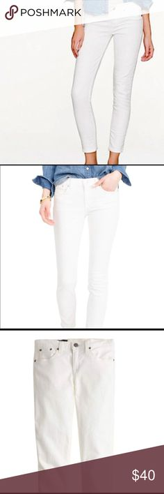 Crew White size 32 Skinny at a discounted price at Poshmark. Description: J Crew White Toothpick Jeans Size Sold by daisybeee. White Jeans, Jeans Size, J Crew, Skinny Jeans, Best Deals, Womens Fashion, Pants, Closet, Style