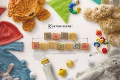 Baby Edition - Custom Scene by Román Jusdado on @creativemarket