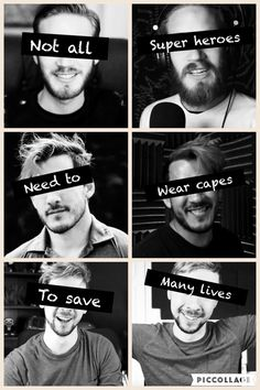 Quote: Unknown Pin: by me, Deja :3 Not all heroes wear capes! Some where headphones!