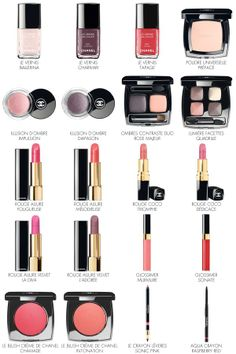 Notes de Printemps, Chanel Spring makeup 2014
