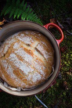 Homemade bread | pain maison sans petrissage