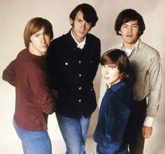 The Monkees - 1967 Peter Tork, Davy Jones, The Monkees, Classic Rock, Music Stuff, Rock And Roll, Nostalgia, Hero, Singers