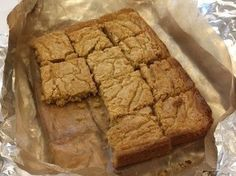 Peanut Butter Bars To Soothe The Soul : NPR