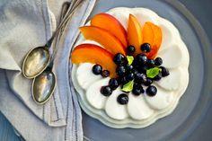 Budino allo yogurt e zucchero di canna