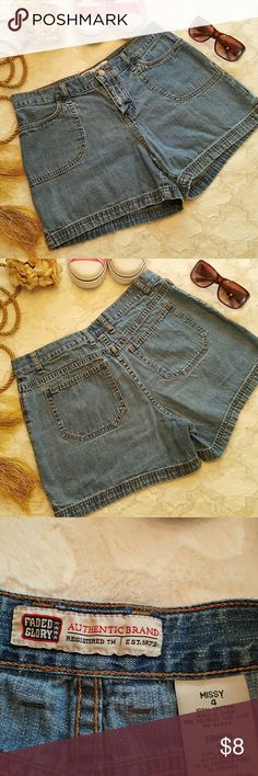 6a37be05a8 Faded Glory jean shorts size 4 Faded Glory jean shorts size 4 Faded Glory  Shorts Jean