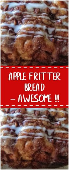 Apple Fritter Bread – Awesome !!! #whole30 #foodlover #homecooking #cooking #cookingtips