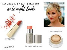 Date Night Celebrity Inspired Look with Natural #greenbeauty #naturalmakeup